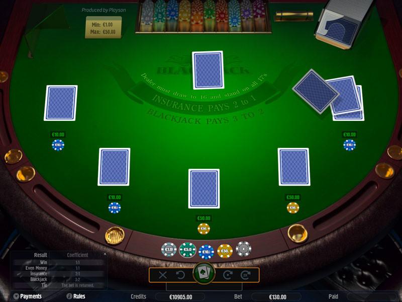 Jogo de caça-níquel Blackjack Classic grátis